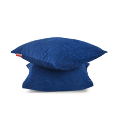 Moshi 40 x 40 cm Cushion Cover Set of 2 - @home by Nilkamal, Blue