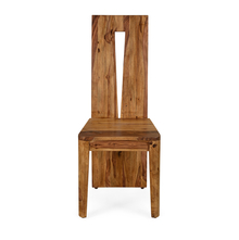 Granada Dining Chair - @home by Nilkamal, Natural Walnut