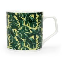 Director Palm Leaf 250 ml Coffee Mug - @home by Nilkamal, Green