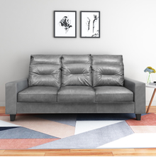 Silvia 3 Seater Sofa, Grey