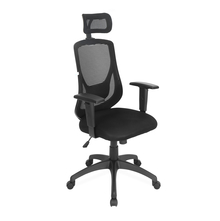 Nilkamal Promo High Back Office Chair, Black