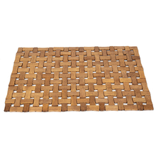 Weave 30cm x 44cm Bamboo Placemat - @home by Nilkamal, Beige