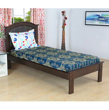Tridal 150 cm x 225 cm Single Bedsheet - @home by Nilkamal, Sea Green