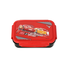 Cars Square Small Lunch Box, Red