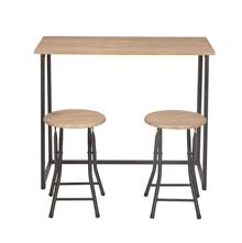 Relish 2 Seater Folding Dining Set, Oak