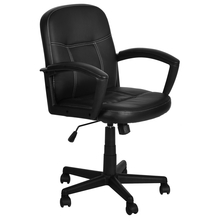Nilkamal Mayor Low Back Office Chair - Black