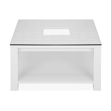 Theia High Gloss Center Table - @home by Nilkamal, White