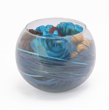 Ocean Bowl Arrangement Potpourri - @home by Nilkamal, Indigo