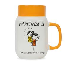Hap Milk Mason Annoying 560ML Mug, Orange