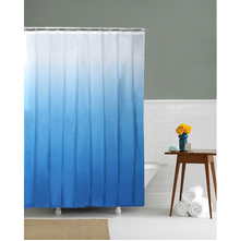 Gradation 180 cm x 200 cm Shower Curtain - @home by Nilkamal, Blue