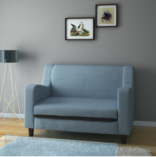 Gregory 2 Seater Sofa, Sky Blue