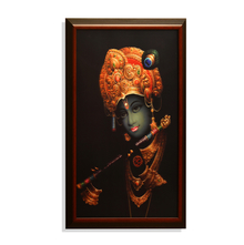 Krishna 3D 40 x 60 cm Picture Frame - @home by Nilkamal