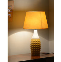 Engrave Bold 27X50CM Medium Table Lamp, Yellow