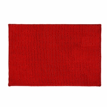 Microfibre 40 cm x 60 cm Bathmat - @home by Nilkamal, Red