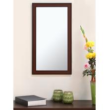 Contemporary 30X60CM Mirror, Brown