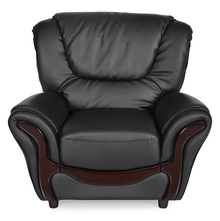 Lunar 1 Seater Sofa - @home By Nilkamal,  black