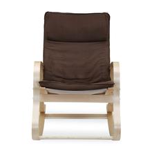 Pronto Rocking Arm Chair, Rich Brown
