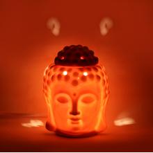 Buddha Electrical Diffuser 11 cm x 10 cm x 14 cm - @home by Nilkamal, Orange