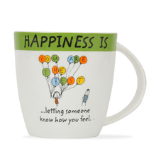 Hap Letin Sum1 320ML Coffee Mug, Green