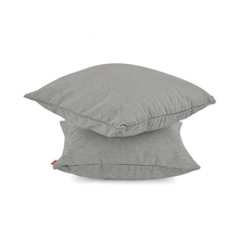 Moshi 40 x 40 cm Cushion Cover Set of 2 - @home by Nilkamal, Grey