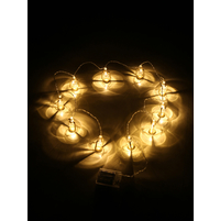 Lantern LED String Lights - @home by Nilkamal, Gold