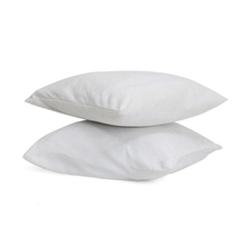 Moshi 60 cm x 60 cm Cushion Cover Set of 2 - @home by Nilkamal, White
