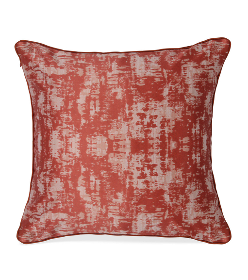 E Tex 40 x 40 cm Cushion Cover Set of 2 - @home by Nilkamal, Maroon