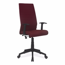Nilkamal Thames High Back Fabric Office Chair, Maroon