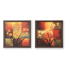 Floral Painting - @home by Nilkamal, Set of 2