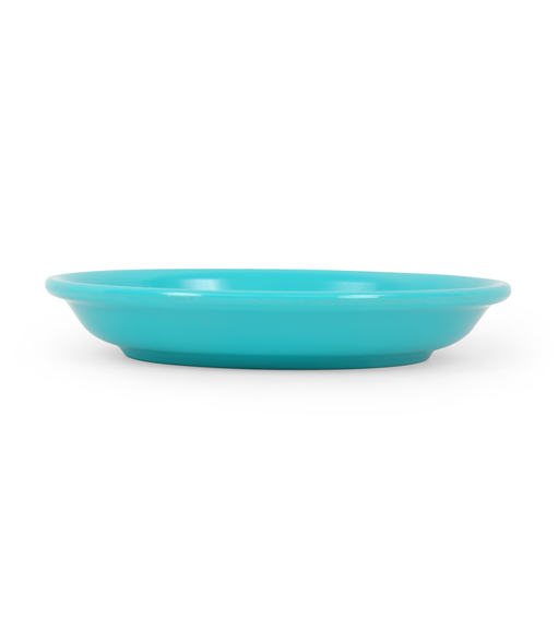 Solid 13 cm Snack Plate - @home by Nilkamal, Teal