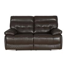 Nexa 2 Seater Sofa W Recliner, Rich Brown