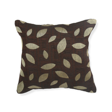 Leaf 40 x 40 cm Cushion Cover Set of 2 - @home by Nilkamal, Brown