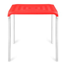 Nilkamal Novella 01 Dining Table,  red