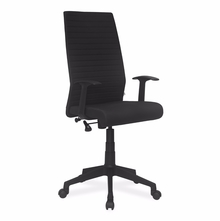 Nilkamal Thames High Back Fabric Office Chair, Black