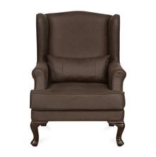 Lucy Arm Chair, Warm Mocha
