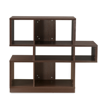 Hudson BookShelf - @home by Nilkamal, Dark Walnut