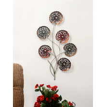 Blossom Metal Wall Decor - @home by Nilkamal