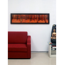 Timberland Woods Painting, Orange
