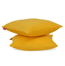 Moshi 60 x 60 cm 2 pieces Cushion Cover - @home by Nilkamal, Yellow
