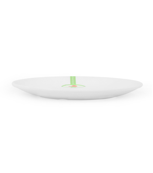 Persian Round Small Plate - @home by Nilkamal, White