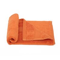 Face Towel 30 X 30 cm - @home by Nilkamal, Orange