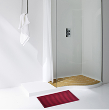 Naxan Gradation 40 cm x 60 cm Showermat - @home by Nilkamal, Pink