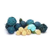 Eden Ocean Deco Balls Potpourri - @home by Nilkamal, Blue