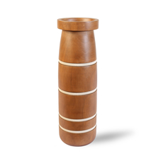 Linear Large Wooden Vase - @home by Nilkamal