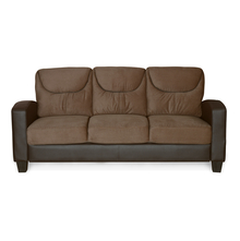 Holmes 3 Seater Sofa - @home by Nilkamal, Sepia Brown
