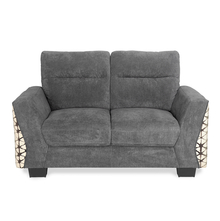 Crossroad 2 Seater Sofa - @home by Nilkamal, Tawny Brown