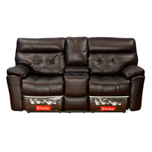 Beverly Home Theater Electric Recliner Sofa - @home by Nilkamal, Burgundy