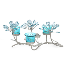 Table 3 Pieces Votive Stand - @home by Nilkamal, Seagreen