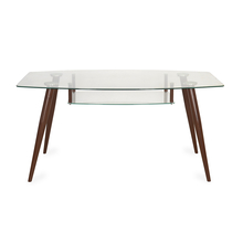 City 6 Seater Dining Table - @home by Nilkamal, Mocha Brown