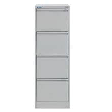 Nilkamal Titan 4 Drawer Filing Storage Cabinet, Grey